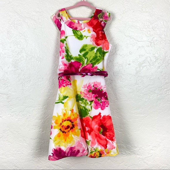 The Children's Place Floral Girls Dress Size 10